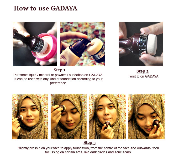 How to use gadaya