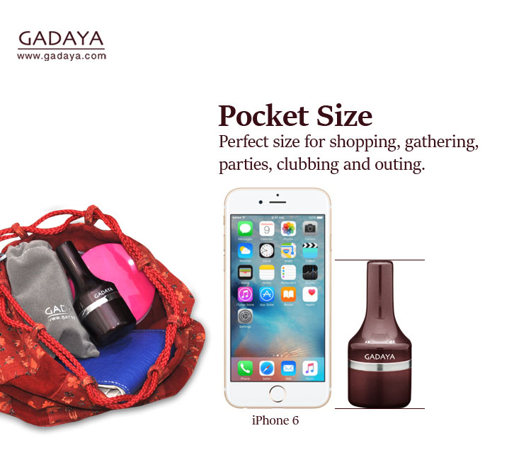 Gadaya is Pocket Size