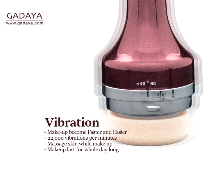 Gadaya is vibrating 22,000 times per minutes