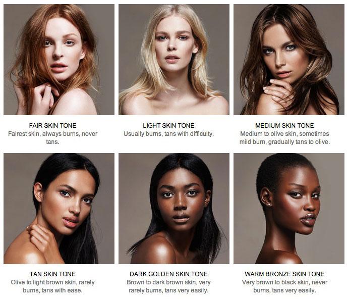 Как сделать цвет кожи лица 247